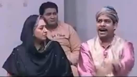 Kithon Paish Pay Gaya, Saara Tabbar Choran Da - Funny Song in Khabardar