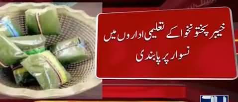 KPK Govt Banned Used of