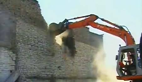 KPK Govt Conducting Operation Against Illegal Construction in Peshawar, Watch Public Views