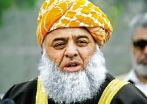 KPK Govt. Used All the Ways of Rigging in the Polling of NA-25 - Maulana Fazal ur Rehman