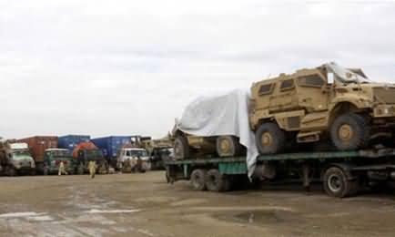 KPK Police Stop PTI from Disrupting NATO Supplies
