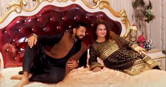 Kuwaiti Boy Got Married To Pakistani Tiktoker Laiba - Husband Wife's Interview