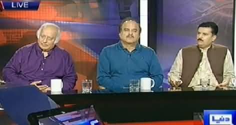 Kyun (Hakumat Imran Khan Ke Azadi March Se Khaufzada Kyun?) – 25th July 2014