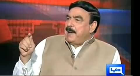 Kyun (Sheikh Rasheed Ahmad Exclusive Interview) - 3rd October 2014