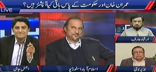 Kyun (What Options Left with Imran Khan and Govt?) – 14th November 2014