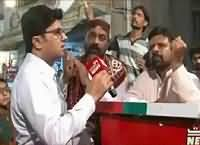 Labb Azaad On Waqt News (Karachi Elections) – 4th December 2015
