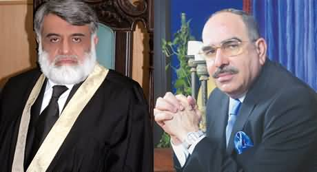 Lahore Police Misbehaves with Chief Justice IHC and Facilitates the Relative of Malik Riaz