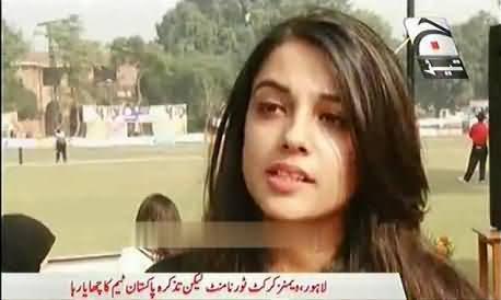 Lahori Girls angry with Pakistani Cricket Team - Sarey Players Budhey Ho Chuke Hain