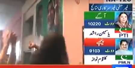 Latest Results From 34 Polling Stations of NA-120, Dr. Yasmin Rashid Still Leading