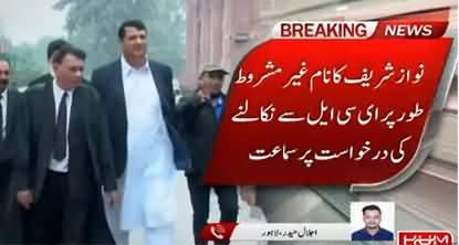 Latest Updates: Two-Member Bench of LHC Hearing Nawaz Sharif's Plea