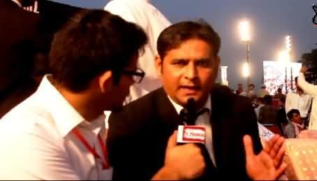 Lawyer of Lahore Bar Association Appreciating Mubashir Luqman and Dr. Tahir ul Qadri