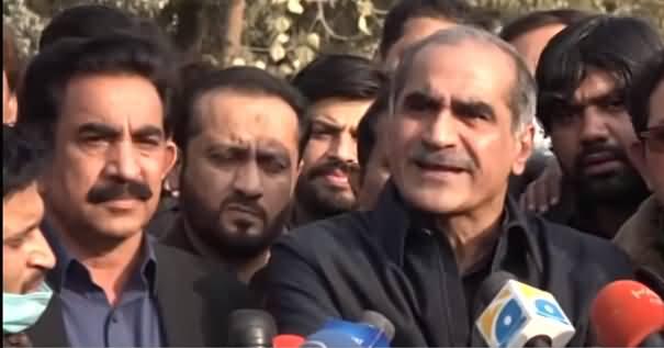 LDA Operation on Khokhar Palace: Khawaja Saad Rafique & Khokhar Brothers Media Talk Against Govt