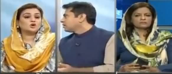 Let Me Talk, I Can Understand Your Frustration - Anchor Imran Khan Gets Hyper on Uzma Bukhari