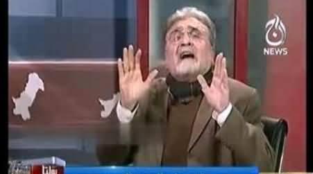Live Caller Se Imran Khan Ki Tareef Sun Kar Nusrat Javed Ko Aaag Lag Gai