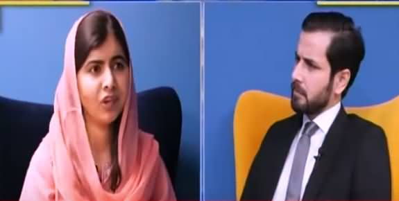 Live with Adil Shahzeb (Exclusive Interview With Nobel Laureate Malala Yousafzai) - 27th October 2021