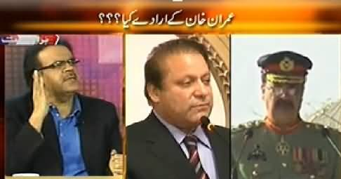 Live With Dr. Shahid Masood (11 May, What Are the Intentions of Imran Khan) – 7th May 2014