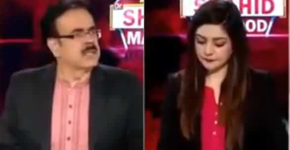 Live With Dr. Shahid Masood (Aag Aur Khoon) - 7th August 2019