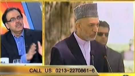 Live With Dr. Shahid Masood (Afghanistan Mein Pur Aman Elections Ka Ineqaad) - 5th April 2014
