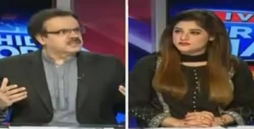 Live With Dr Shahid Masood (Afghanistan Pakistan Ka Dushman) – 15th July 2016