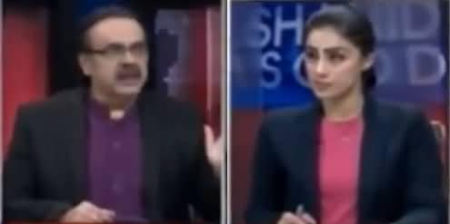 Live With Dr Shahid Masood (Allah Sakht Saza Dene Wala Hai) – 16th February 2018