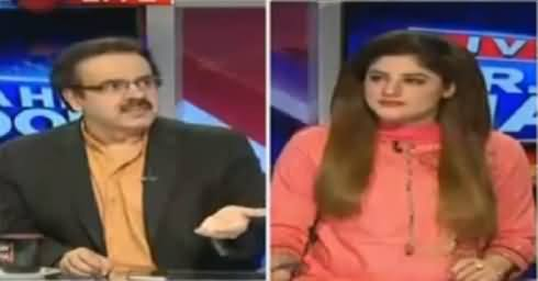 Live With Dr Shahid Masood (Army Chief & Core Commanders Conference) – 13th July 2016