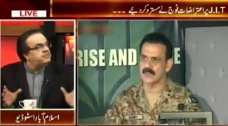 Live With Dr. Shahid Masood (Army Rejected Objections On Baldia Town JIT Report) – 13th February 2015