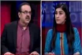 Live With Dr Shahid Masood (Badmashia, Hamlon Ki Zadd Mein) – 12th February 2018
