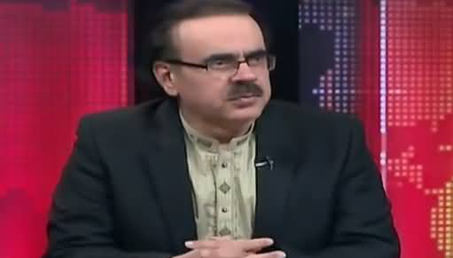 Live With Dr. Shahid Masood (Badmashia In Trouble) – 10th July 2018