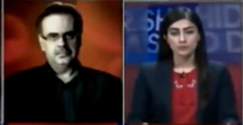 Live With Dr Shahid Masood (Badmashia Ke Khadshat) – 17th March 2018
