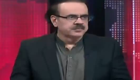 Live With Dr. Shahid Masood (Badmashia Ki Aakhri Cheekhein) – 11th July 2018