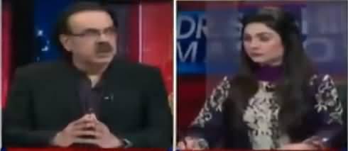 Live With Dr. Shahid Masood (Badmashia Ki Cheekhein) - 21st October 2018