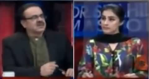Live With Dr Shahid Masood (Badmashia Pareshan) – 11th February 2018