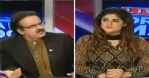 Live With Dr Shahid Masood (Last Show Before Ban) – 12th August 2016