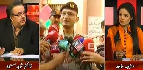 Live With Dr. Shahid Masood (Chinese President Visit, Karachi Operation & Other Issues) – 21st April 2015