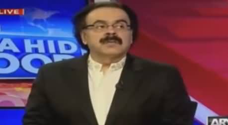 Live With Dr Shahid Masood (Civil Military Tension) - 12th October 2016