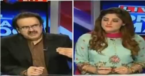 Live With Dr Shahid Masood (CJ SHC Son Kidnapped in Karachi) – 21st June 2016