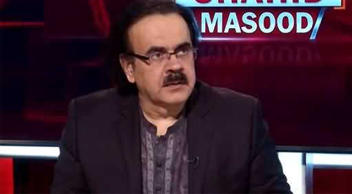 Live with Dr. Shahid Masood (Core Commanders Conference) - 11th August 2021