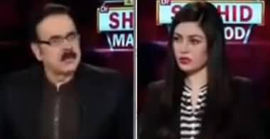 Live with Dr. Shahid Masood (Corona Ki Tabah Kariyan) - 21st April 2020