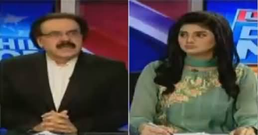 Live With Dr Shahid Masood (Dawn News & Govt Military Relations) – 11th October 2016