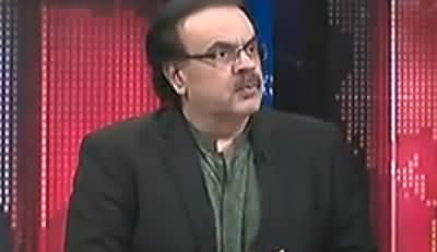 Live With Dr Shahid Masood (Dhamkian Aur Maafian) – 16th October 2017