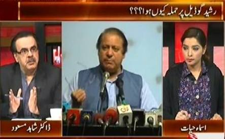 Live With Dr. Shahid Masood (Differences in PMLN, Why Rasheed Godil Was Attacked) – 15th October 2015