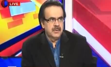 Live With Dr Shahid Masood (Discussion on Different Issues) – 22nd February 2016