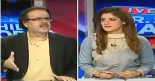 Live With Dr Shahid Masood (Discussion on Different Issues) – 24th May 2016