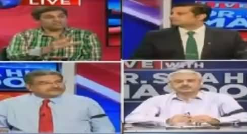 Live With Dr Shahid Masood (Dr. Shahid Ki Zuban Bandi) – 15th August 2016