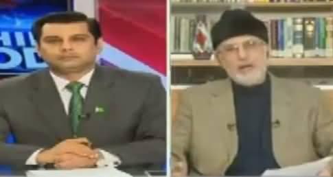 Live With Dr Shahid Masood (Dr. Tahir ul Qadri Exclusive) – 6th September 2016