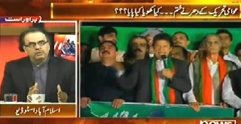 Live With Dr. Shahid Masood (End of PAT Dharna, Kya Khoya Kya Paya) – 21st October 2014