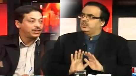 Live With Dr. Shahid Masood (Faisal Raza Abidi Exclusive Interview) - 3rd February 2015