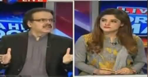 Live With Dr Shahid Masood (Farooq Sattar Ke Ghar Par Raid) – 8th June 2016