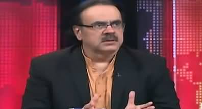Live With Dr Shahid Masood (Fauj Kia Soch Rahi Hai) – 9th March 2018