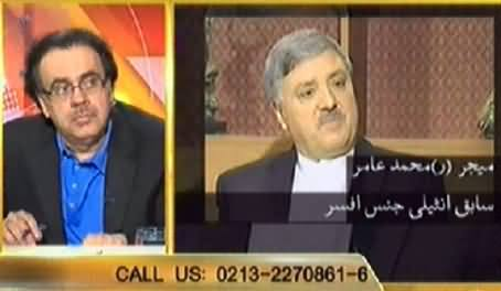 Live With Dr. Shahid Masood (Geo is in Trouble Due to Imran Khan Boycott) – 3rd April 2014